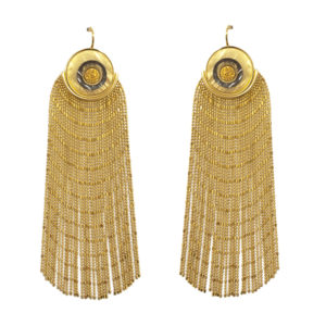 COIN Fringed Earrings | Gold Silver & Gold Druzy_WEB_2