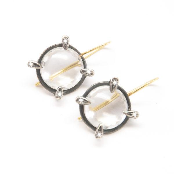 Lens Earrings Round_201804_2