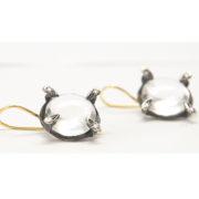 Lens Earrings Round_201804_3