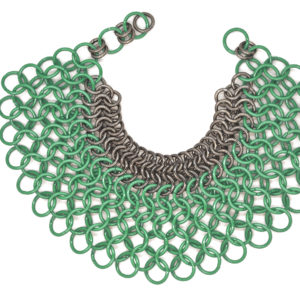 Lucia Odescalchi_Butterfly Necklace_GREEN