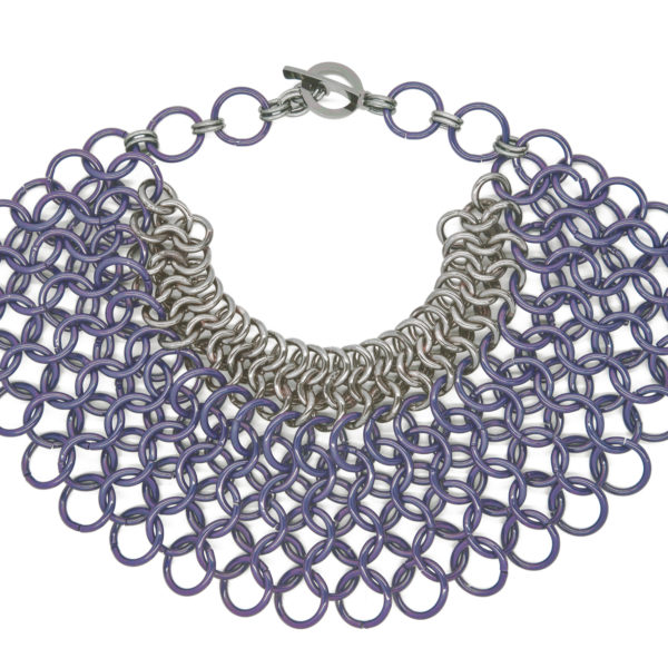 Butterfly Necklace Purple