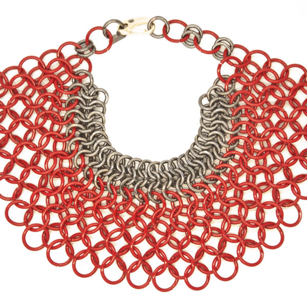 Lucia Odescalchi_Butterfly Necklace_RED