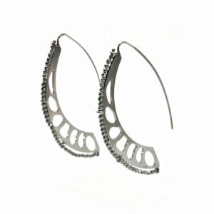 Sciabola Earrings Black_2