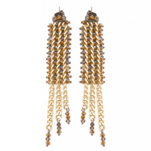 BRM1-01-G Mary Crawford Earrings GOLD_4