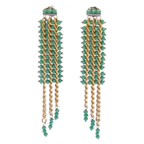 BRM1-01-V Mary Crawford Earrings GREEN_1