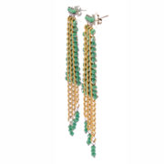BRM1-01-V Mary Crawford Earrings GREEN_2