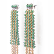 BRM1-01-V Mary Crawford Earrings GREEN_4