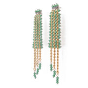 BRM1-01-V Mary Crawford Earrings GREEN_6