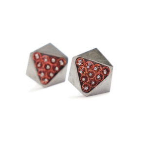 Hexagone Earrings 2