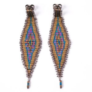 Contrada Earrings Bronze 1