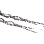 Tracce Cometa Earrings - Black 3