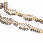 Tracce Cometa Earrings - White.3