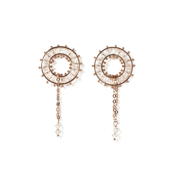HR Valzer Earrings Pink