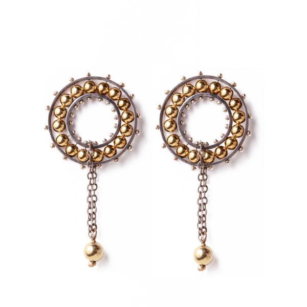 Valzer Earrings | Gold